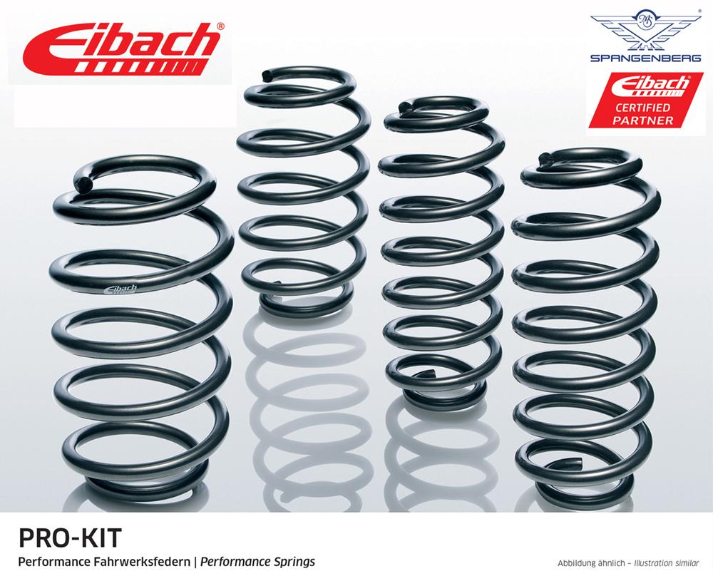 Eibach Pro-Kit Fahrwerksfedern Peugeot 206 CC 2D Cabrio ab Bj 2000- E7025-120