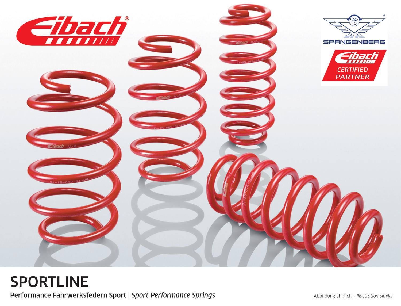 Eibach Sportline Federn Audi A3 Limo Stufenheck 8VS 8VM 2012- E20-15-021-04-22
