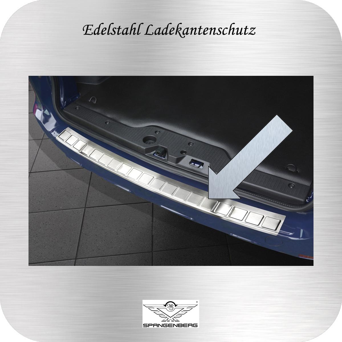 Ladekantenschutz Edelstahl Dacia Dokker Kombi 2012- ohne Aussparung 3235141