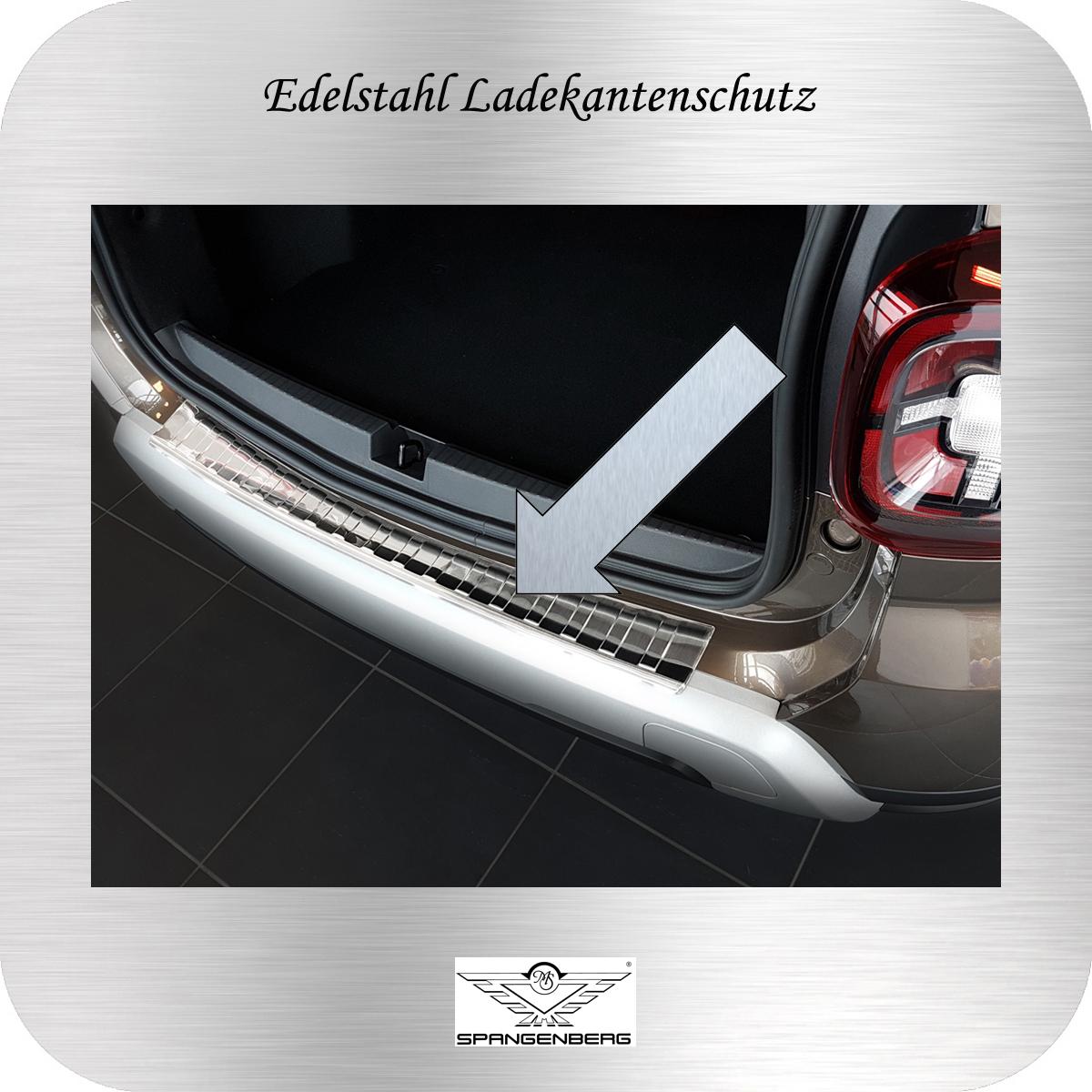 Ladekantenschutz Edelstahl Dacia Duster II SUV 2. Generation ab 01.2018- 3235203