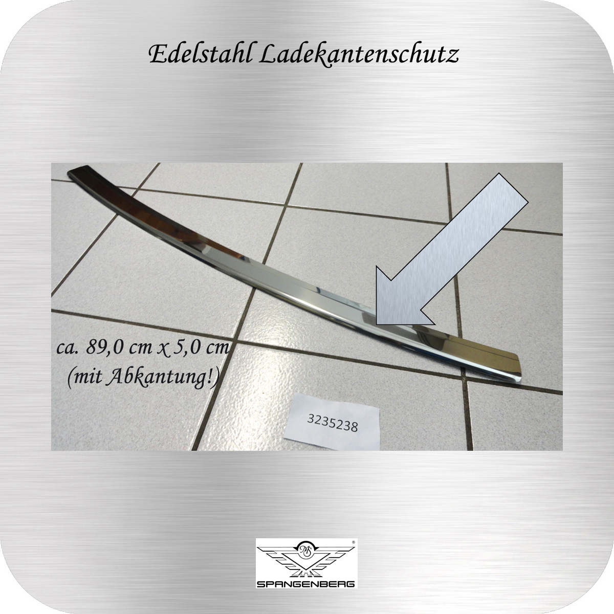 Ladekantenschutz Edelstahl poliert Skoda Fabia II Combi Typ 545 2007- 3235238