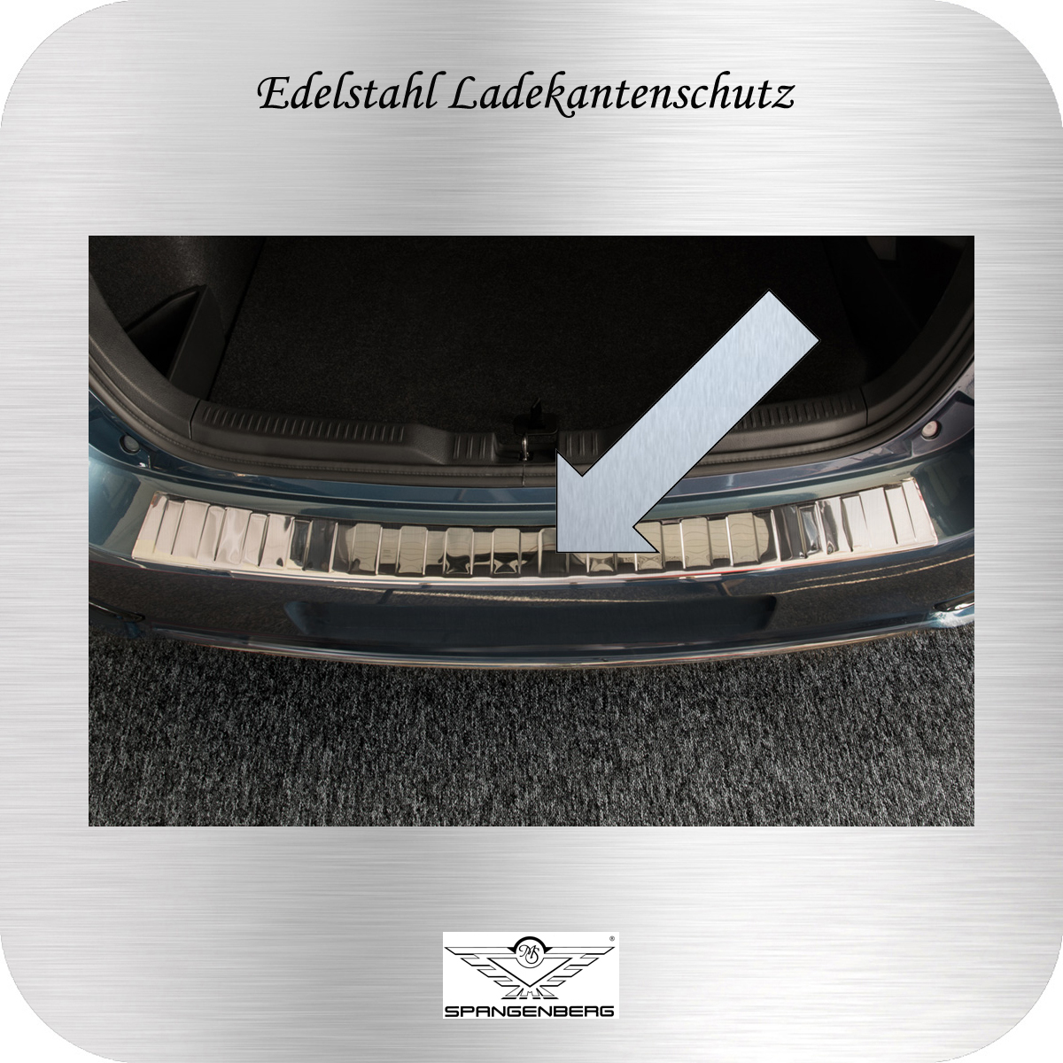 Ladekantenschutz Edelstahl Toyota Auris Touring Sport ab FL 2015- 3235274