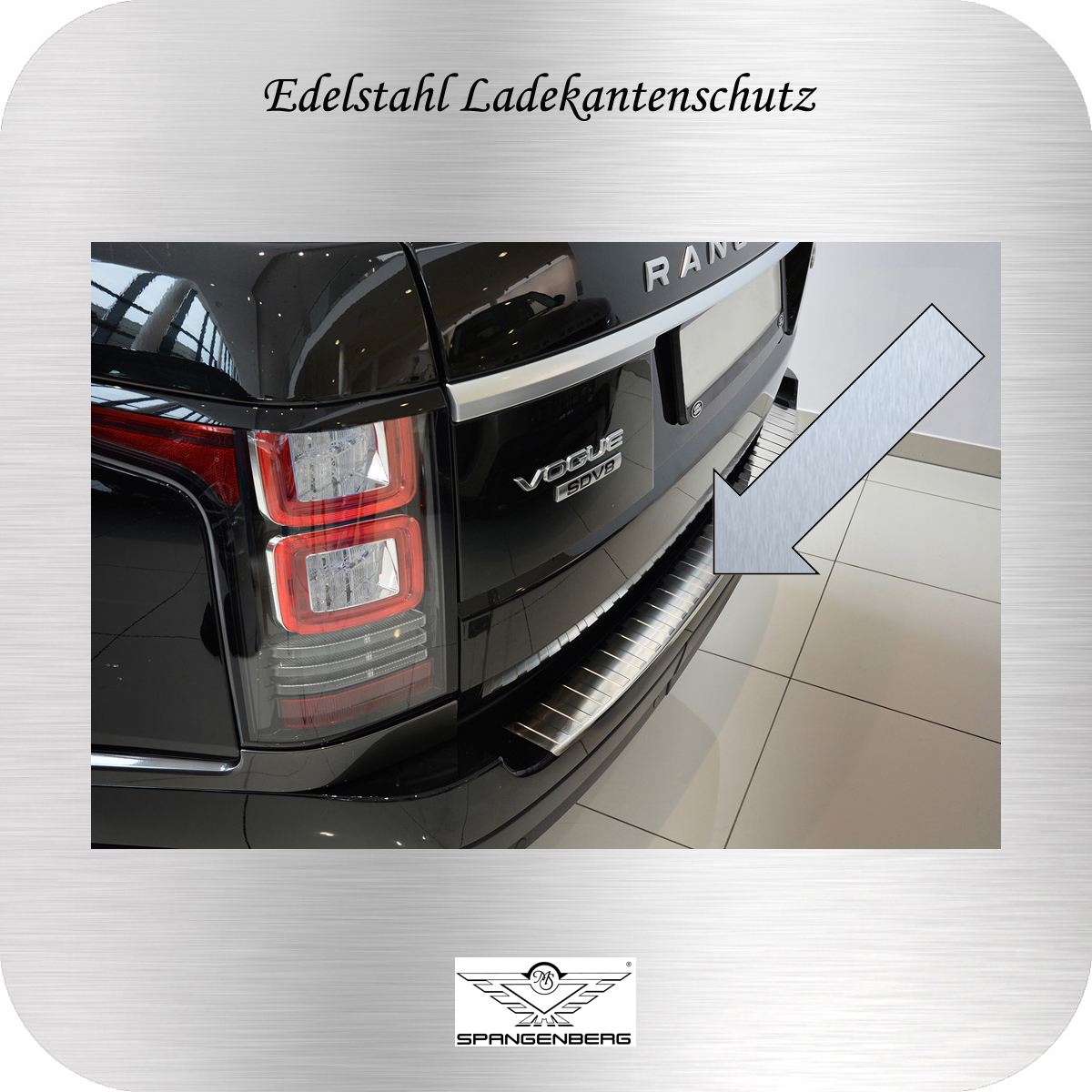 Ladekantenschutz Edelstahl Land Rover Range Rover IV 2012- 3235338