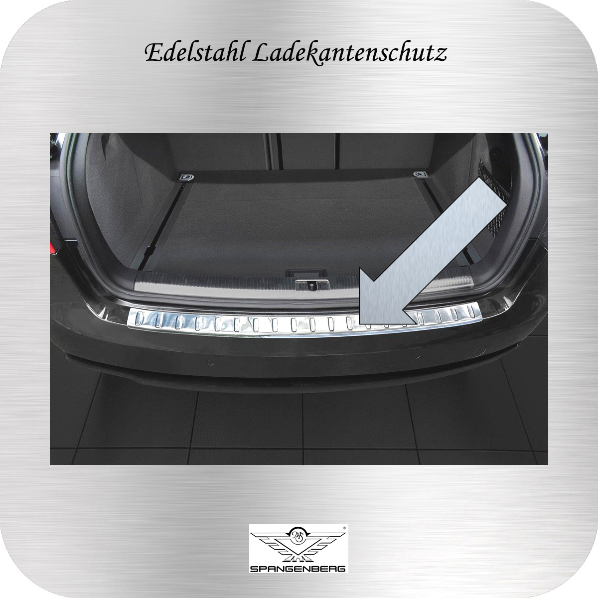 Ladekantenschutz Edelstahl Audi A4 Avant 8K5 B8 ab facelift 2012-15 3235732