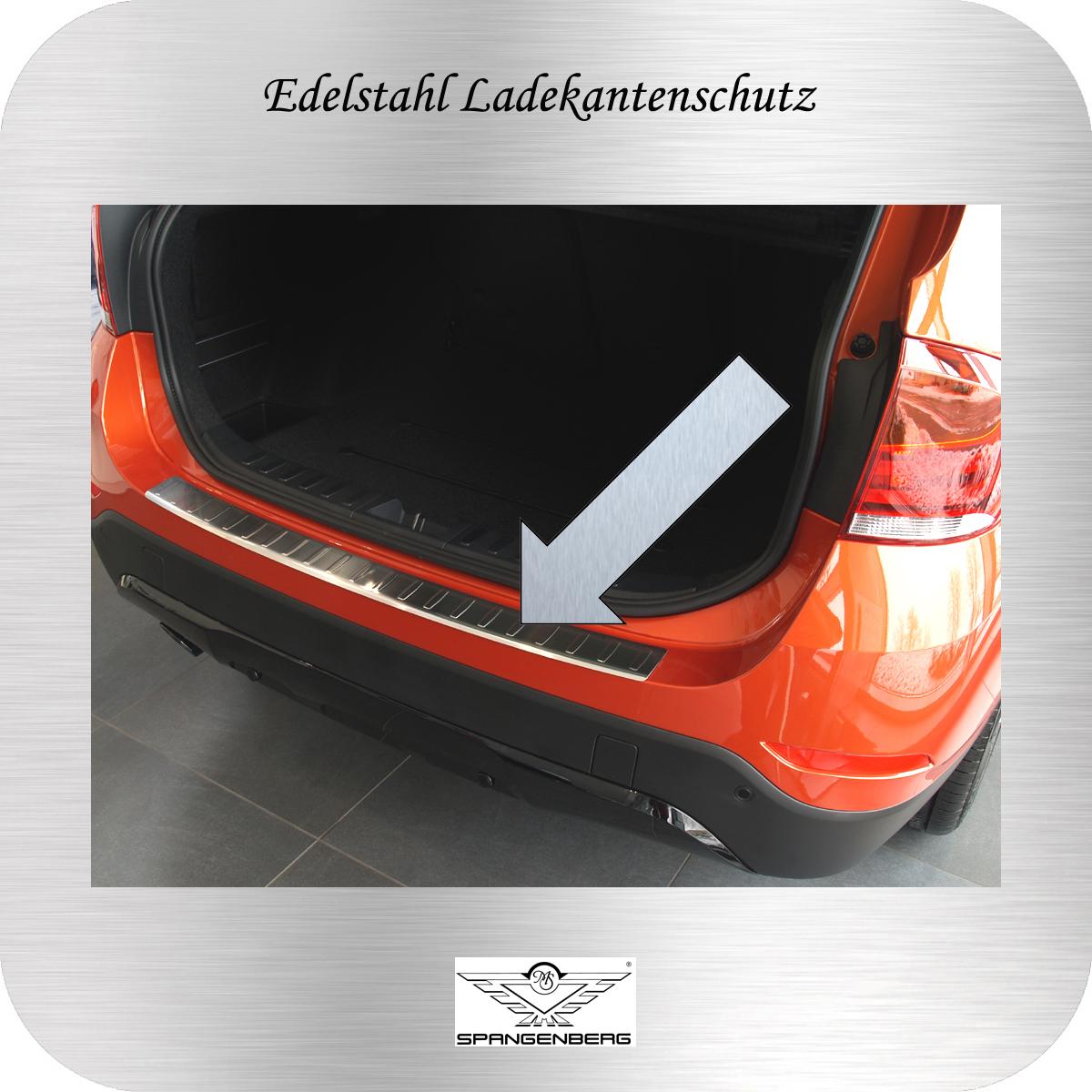 Ladekantenschutz Edelstahl BMW X1 E84 SUV Kombi vor FL 2009-2012 3235743