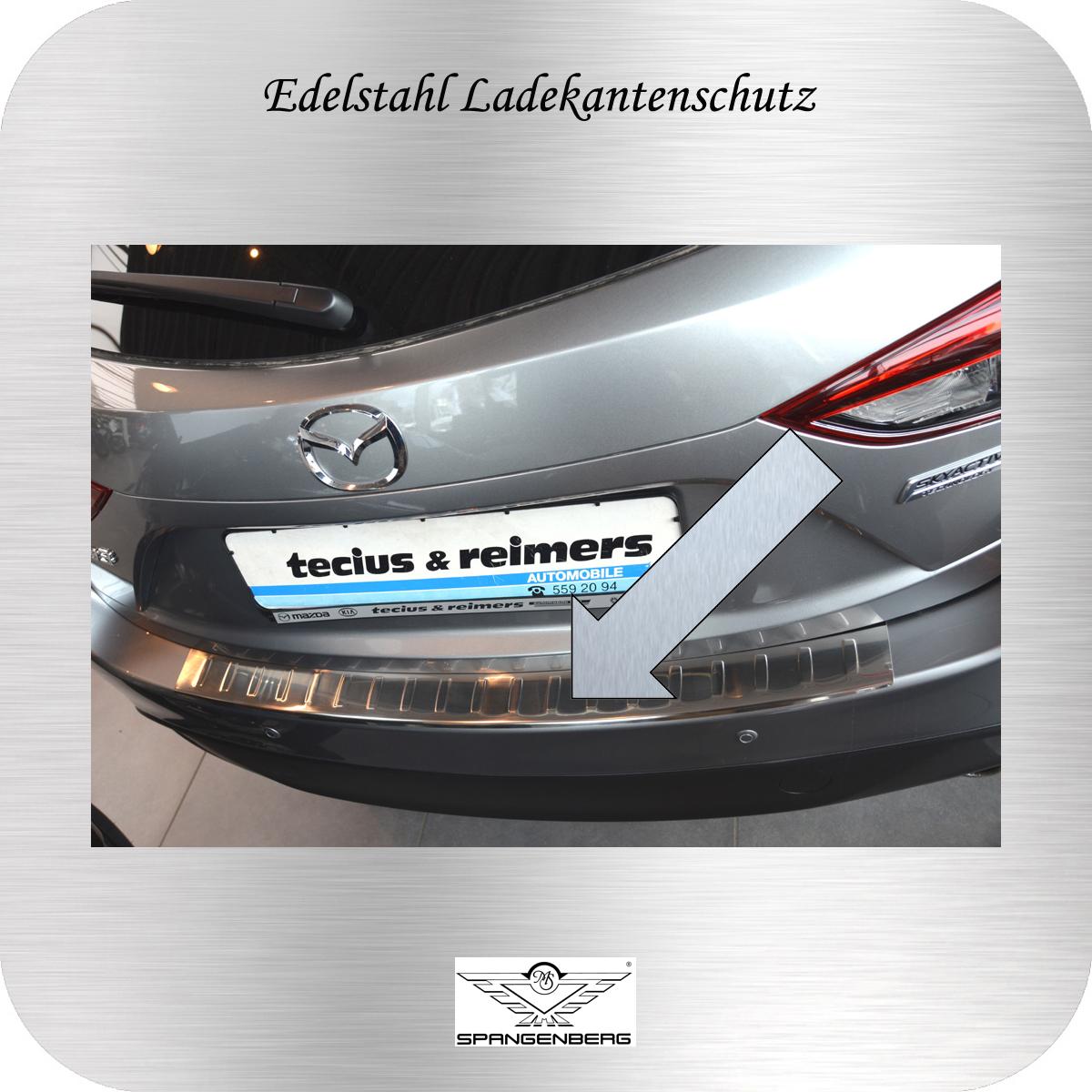 Ladekantenschutz Edelstahl Mazda 3 Schrägheck Typ BM Mazda3 2013- 3235761