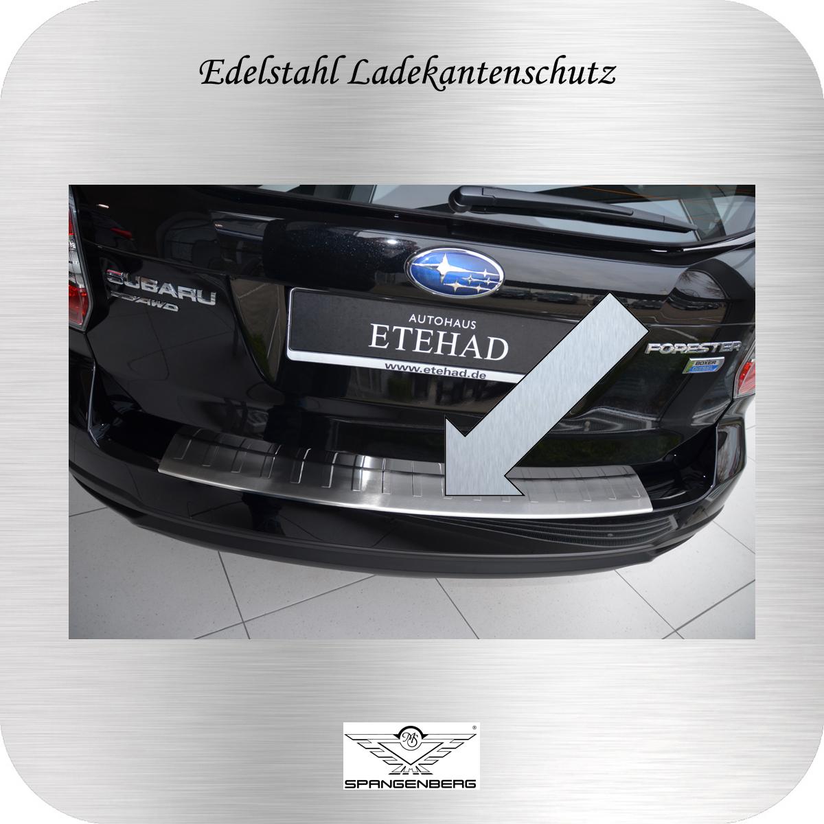 Ladekantenschutz Edelstahl Subaru Forester IV SUV Kombi Typ SJ 2013- 3235800