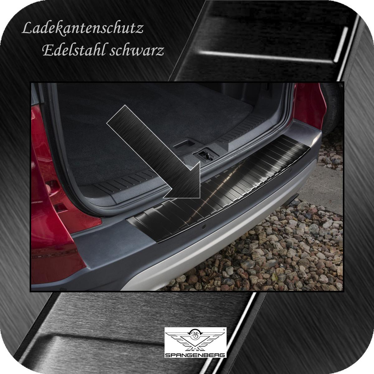 Ladekantenschutz Edelstahl schwarz graphit Ford Kuga II SUV ab 03.2013- 3245010