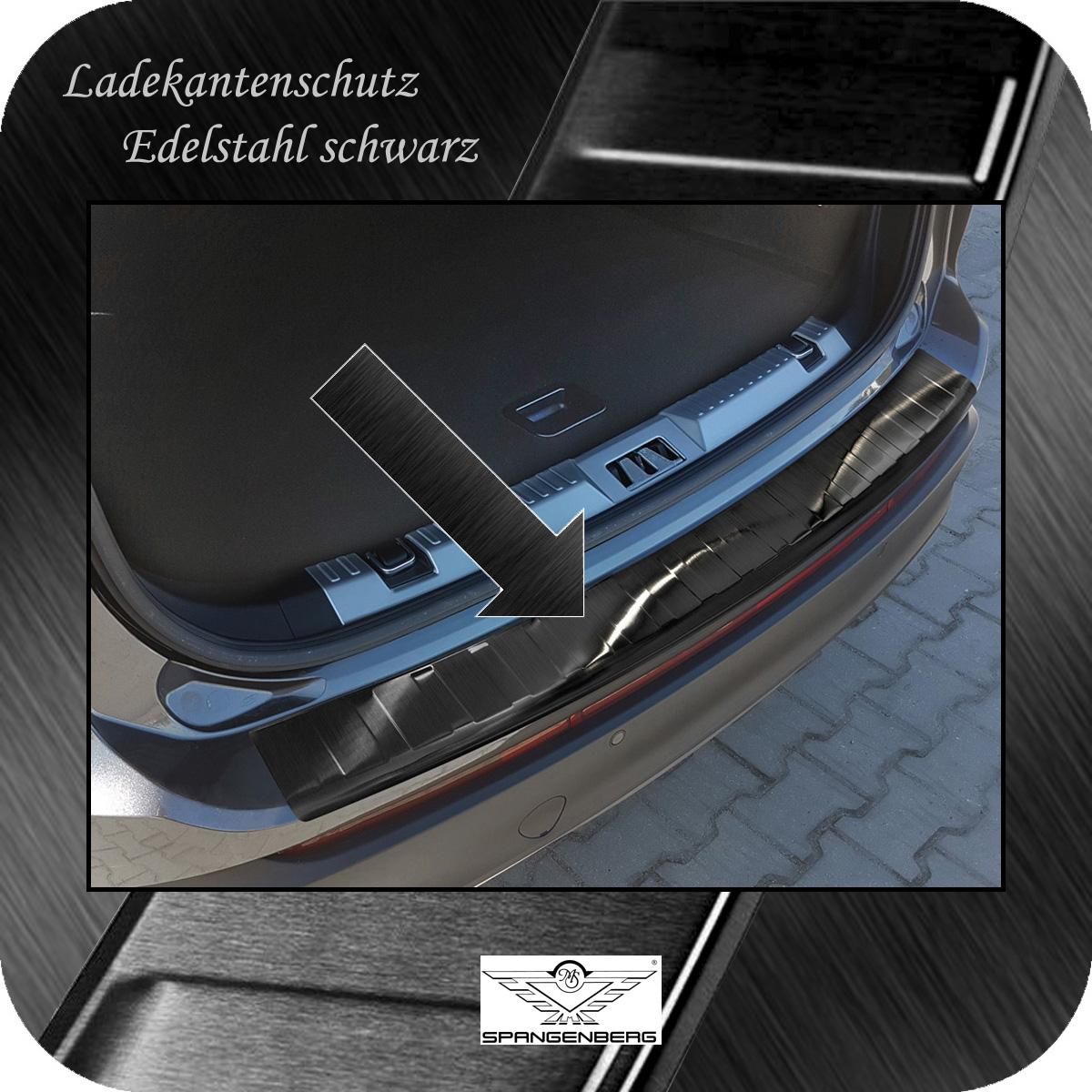 Ladekantenschutz Edelstahl schwarz graphit Ford Edge SUV vor Mopf 14-18 3245068