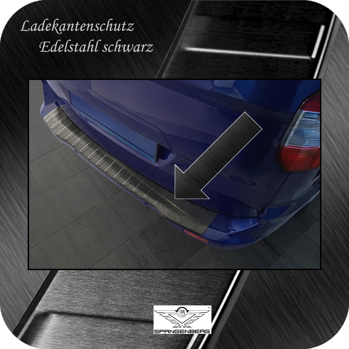Ladekantenschutz Edelstahl schwarz graphit Ford Transit/Tourneo Courier 3245073