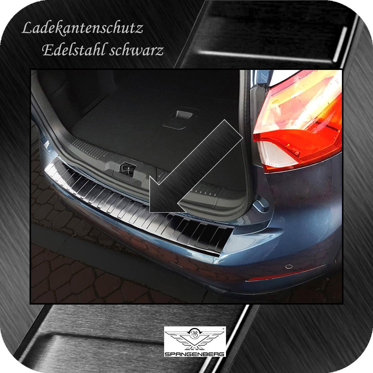 Ladekantenschutz Edelstahl schwarz graphit Ford Focus IV Turnier 4.2018- 3245193