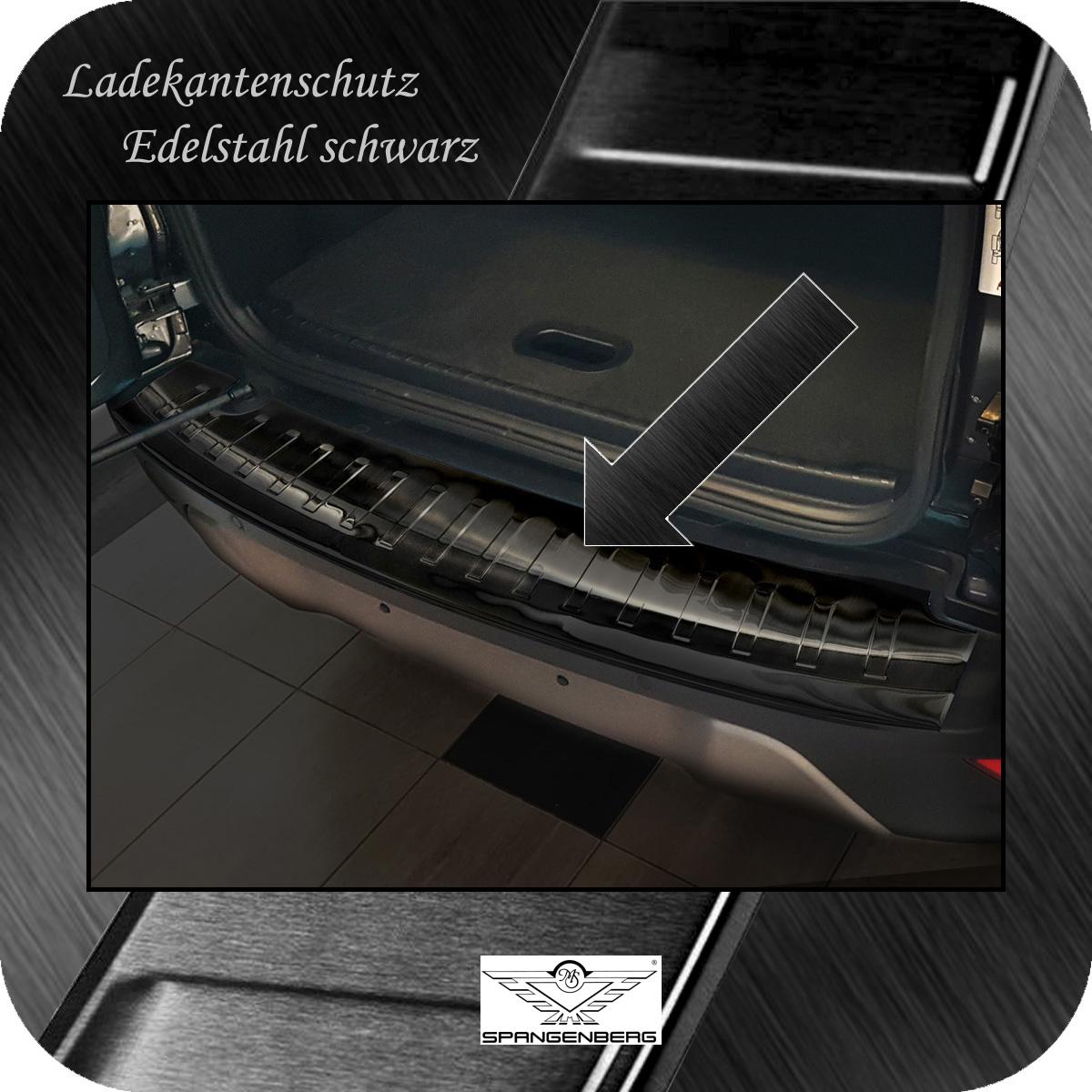 Ladekantenschutz Edelstahl schwarz graphit Ford Ecosport SUV Mopf 11.17- 3245199