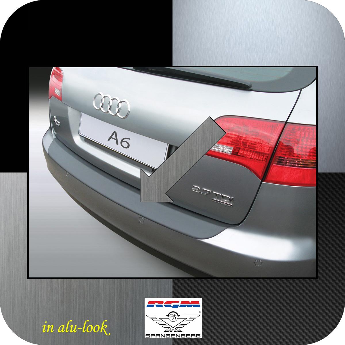 Ladekantenschutz Alu-Look Audi A6 C6 Avant auch Allroad Kombi 2005-11 3504341