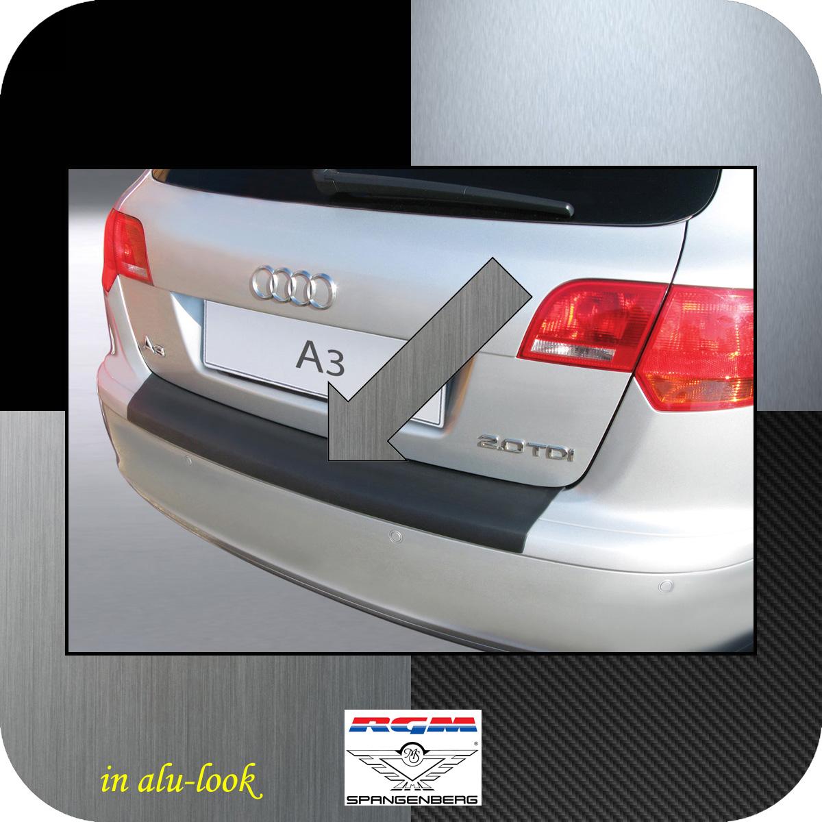 Ladekantenschutz Alu-Look Audi A3 Sportback vor facelift 2004-2008 3504361