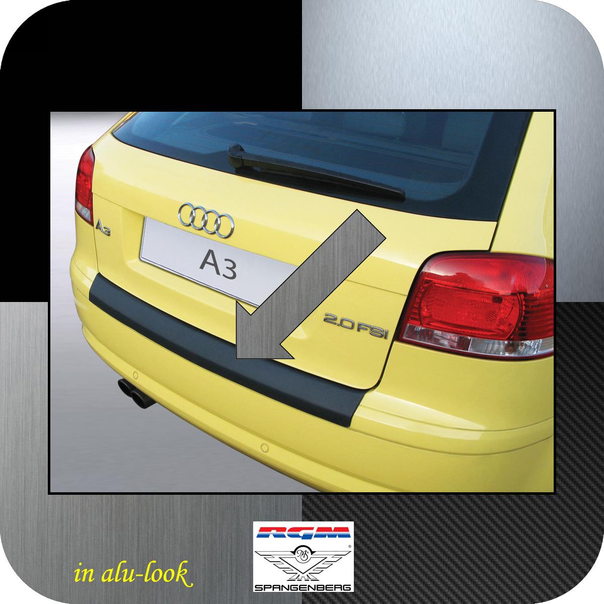 Ladekantenschutz Alu-Look Audi A3 Schrägheck vor facelift II 2003-08 3504366