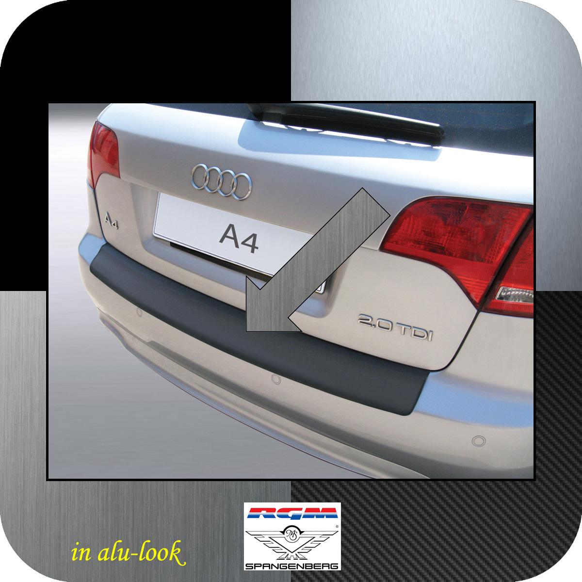 Ladekantenschutz Alu-Look Audi A4 B7 Avant Kombi auch S-Line 2004-08 3504462