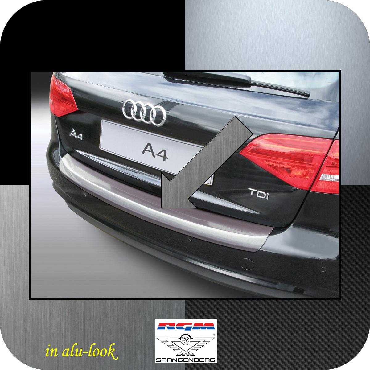 Ladekantenschutz Alu-Look Audi A4 B8 Avant Mopf 2011-2015 auch S-Line 3504566