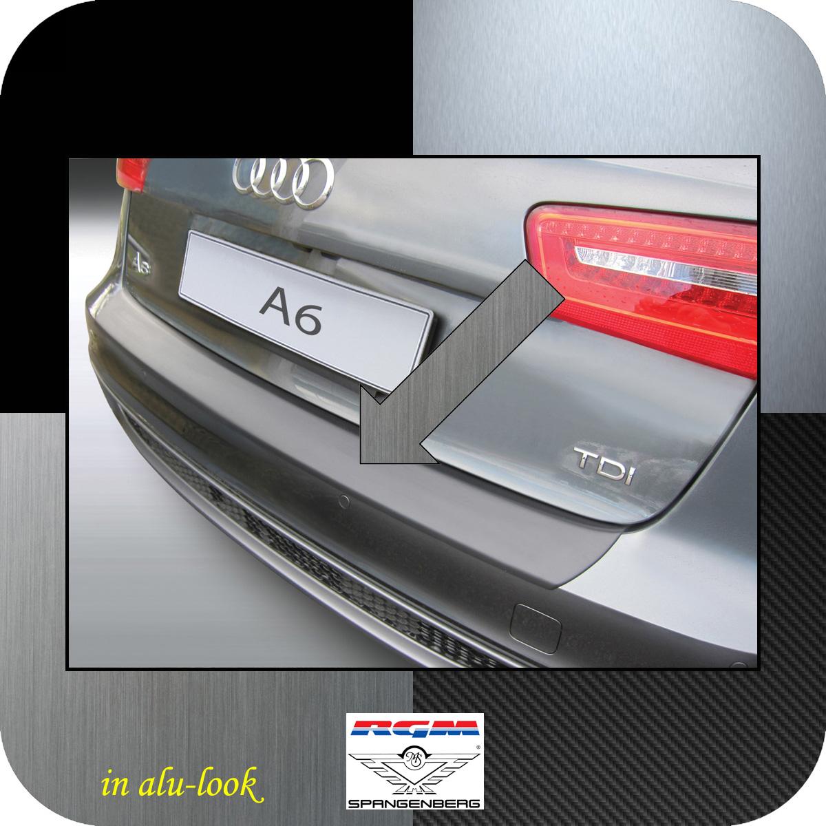Ladekantenschutz Alu-Look Audi A6 C7 Avant Kombi vor Mopf 2011-2014 3504713