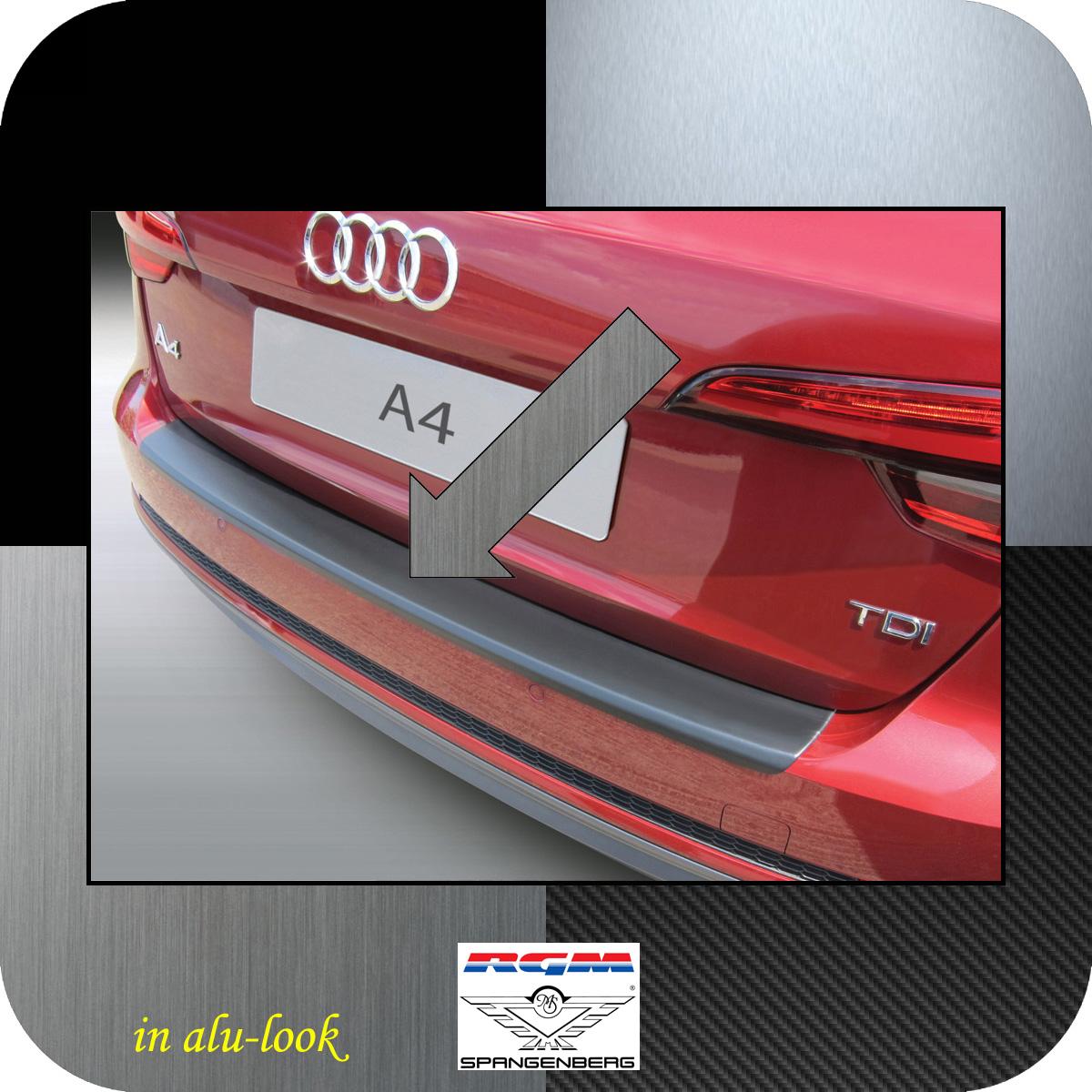 Ladekantenschutz Alu-Look Audi A4 B9 Avant auch S-Line 5-Türer 2015- 3504894