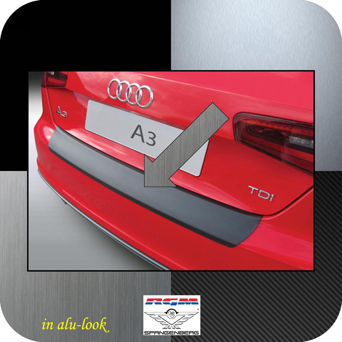 Ladekantenschutz Alu-Look Audi A3 auch S3 Schrägheck 3-Türer 2012-2017 3504899