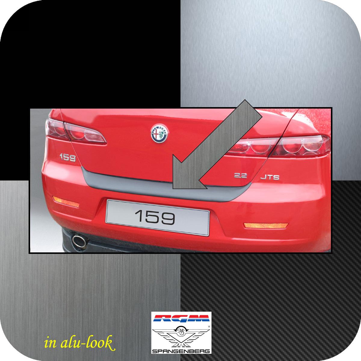 Ladekantenschutz Alu-Look Alfa Romeo 159 Limousine 4-Türer 2005-11 3504131