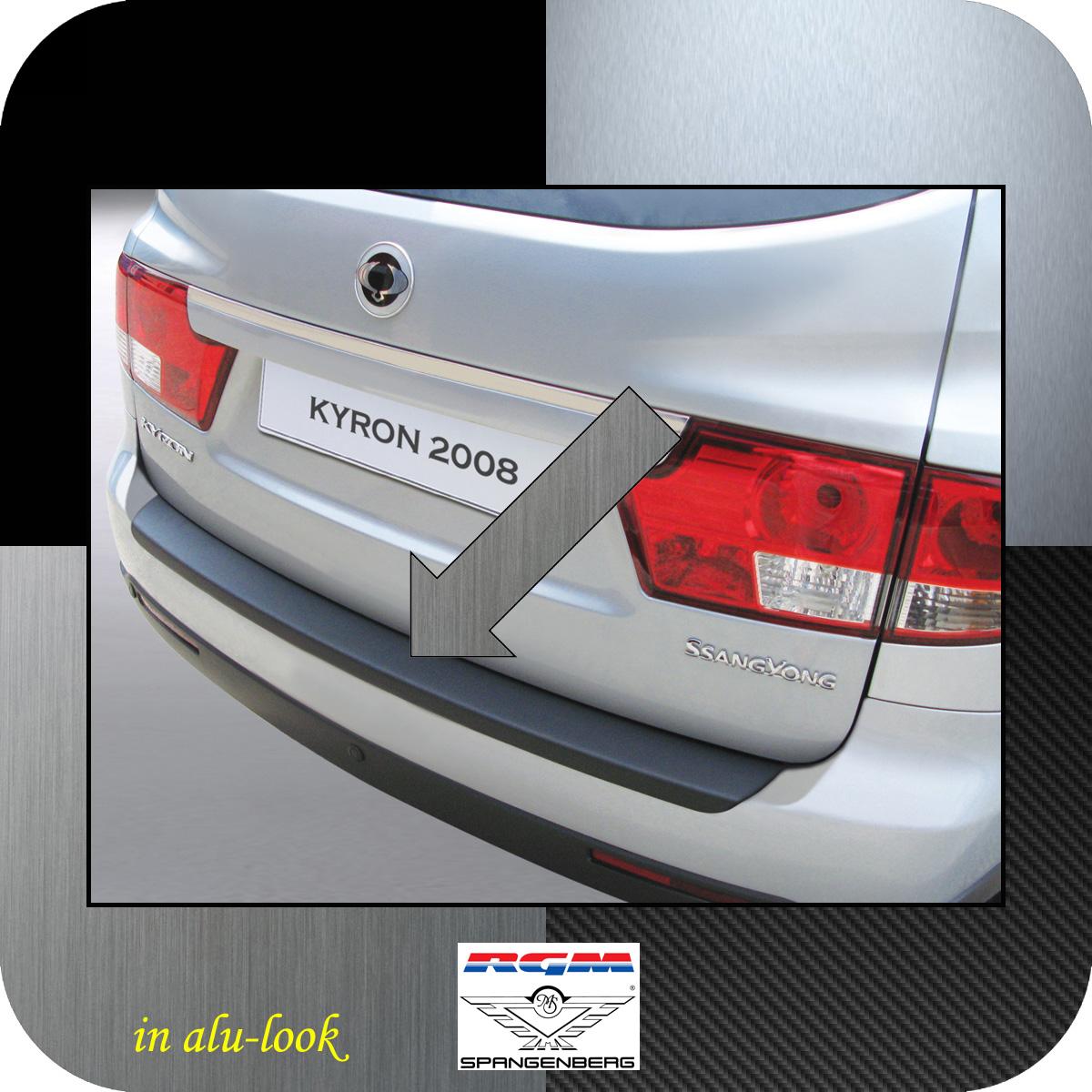 Ladekantenschutz Alu-Look SsangYong Kyron SUV Kombi facelift 2007- 3504154