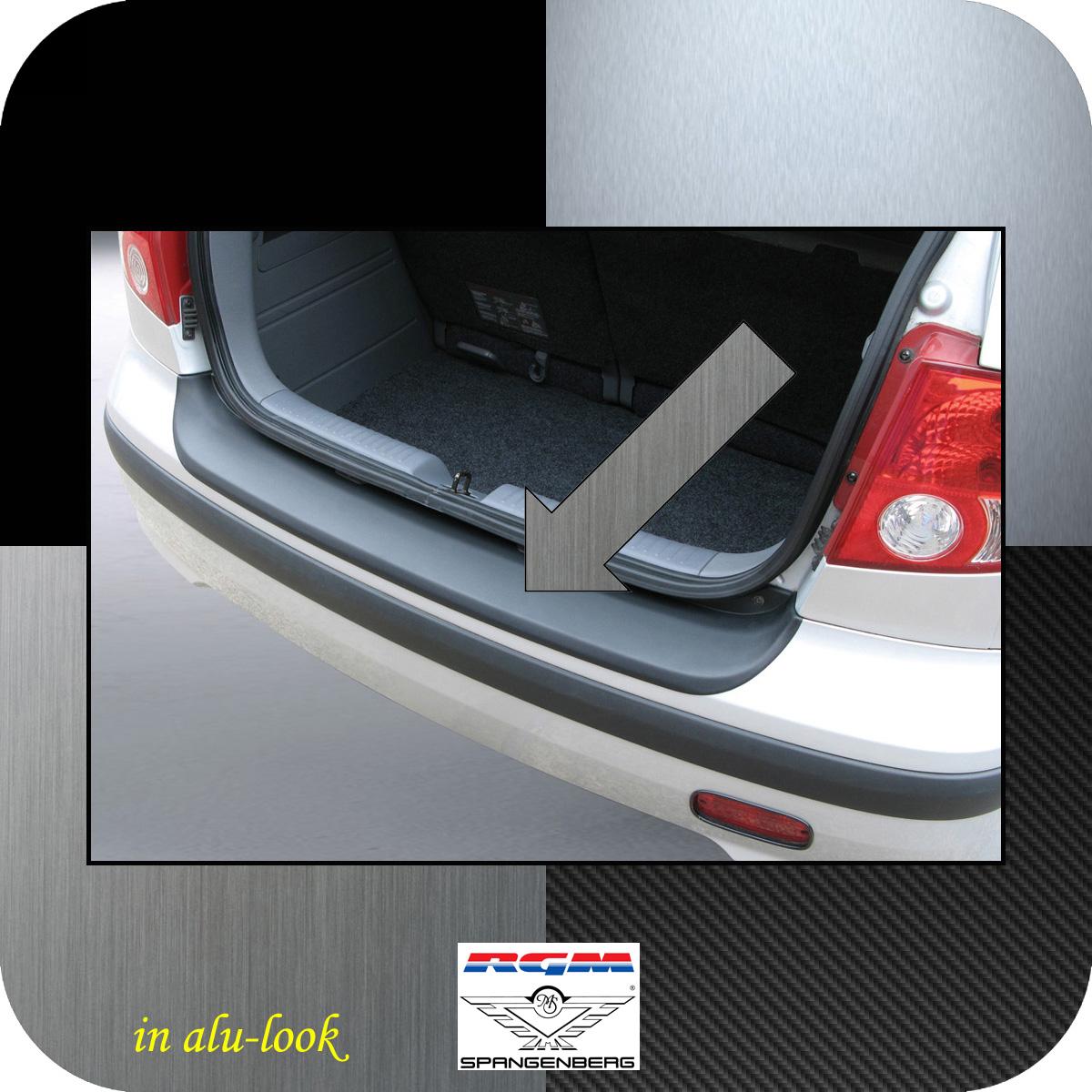 Ladekantenschutz Alu-Look Hyundai Getz Schrägheck vor Mopf 2002-05 3504211