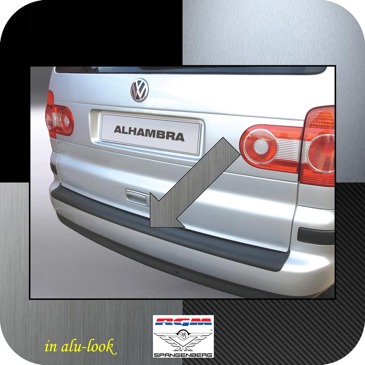 Ladekantenschutz Alu-Look Seat Alhambra I Van Kombi ab Mopf 2000-10 3504232
