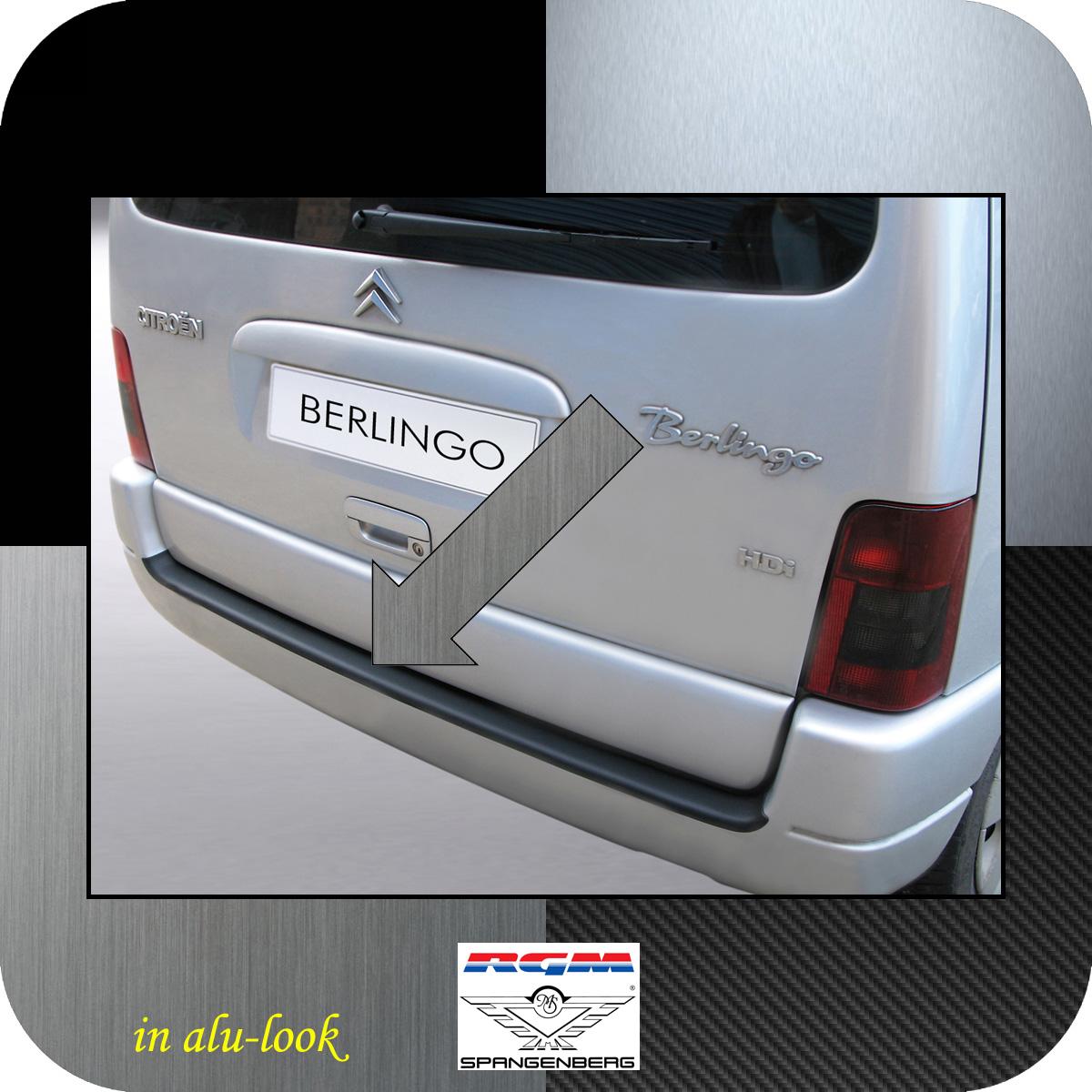 Ladekantenschutz Alu-Look Citroen Berlingo I bis Baujahr 2008 3504258