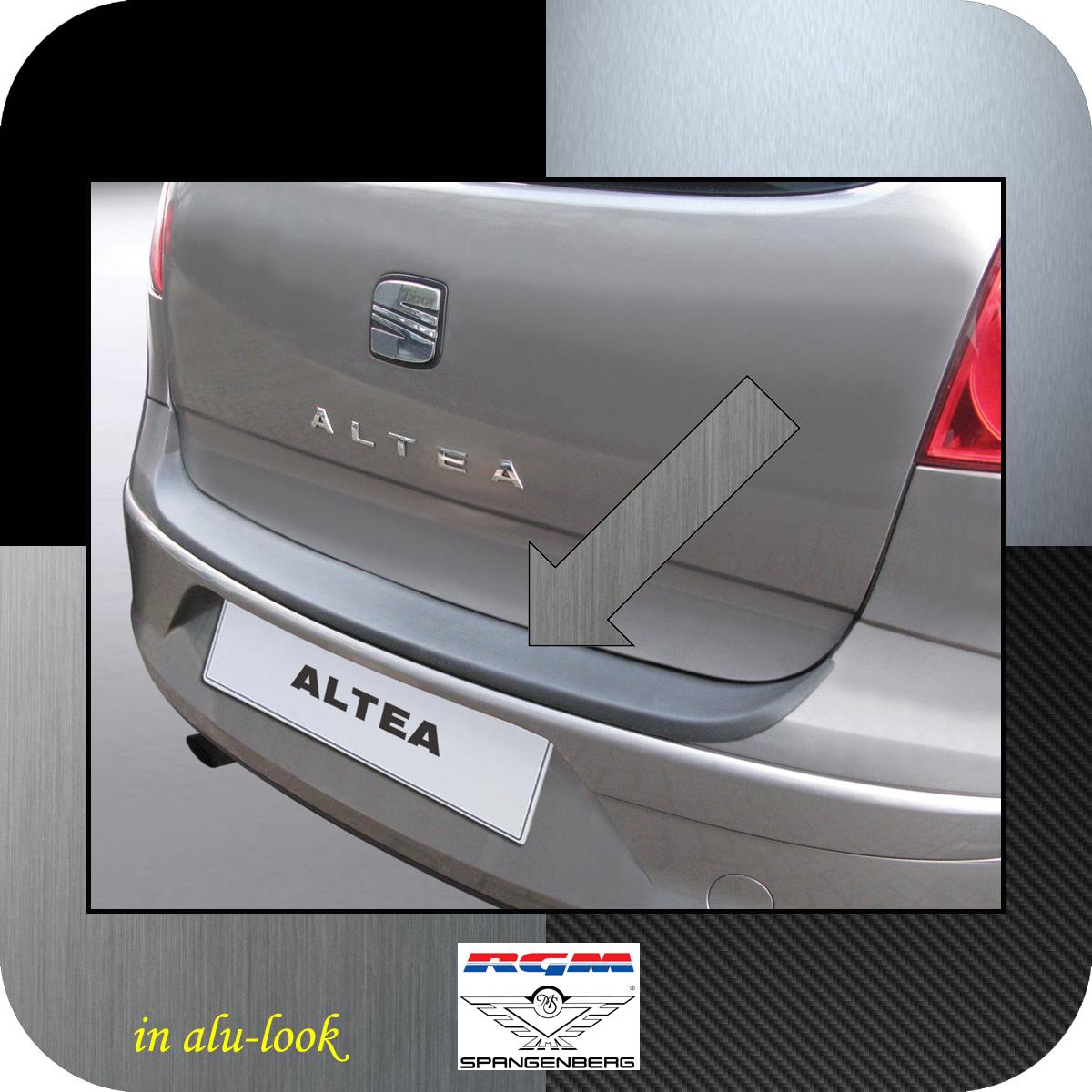 Ladekantenschutz Alu-Look Seat Altea Van Kombi vor facelift 2004-2009 3504273