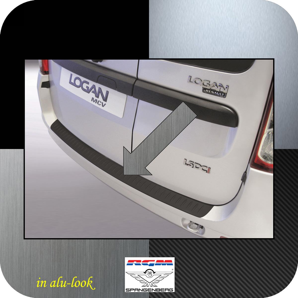 Ladekantenschutz Alu-Look Dacia Logan MCV I Kombi ab facelift 2009-13 3504314