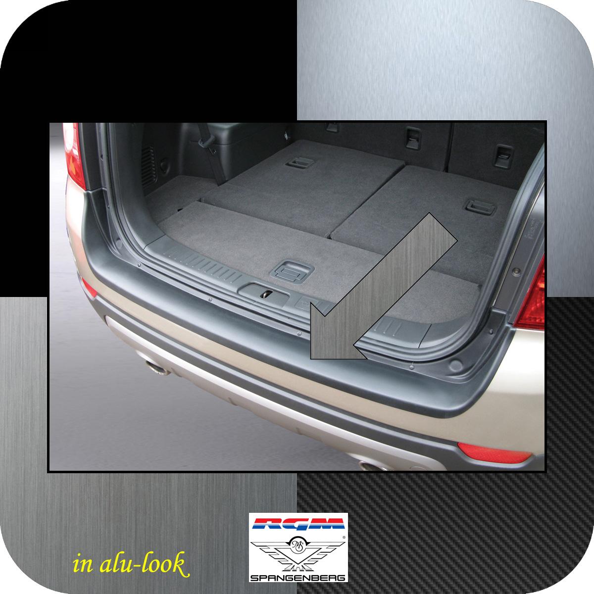 Ladekantenschutz Alu-Look Chevrolet Captiva SUV 4X4 vor Mopf 2006-13 3504322