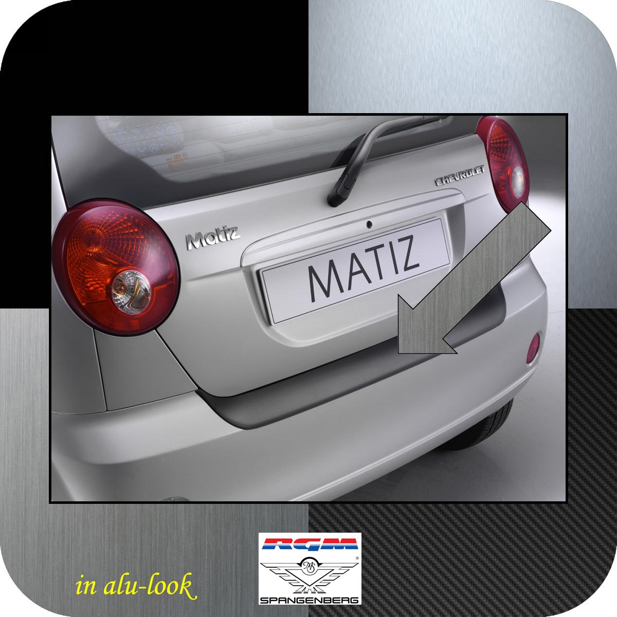 Ladekantenschutz Alu-Look Chevrolet Matiz Spark Schrägheck bis 2010 3504326