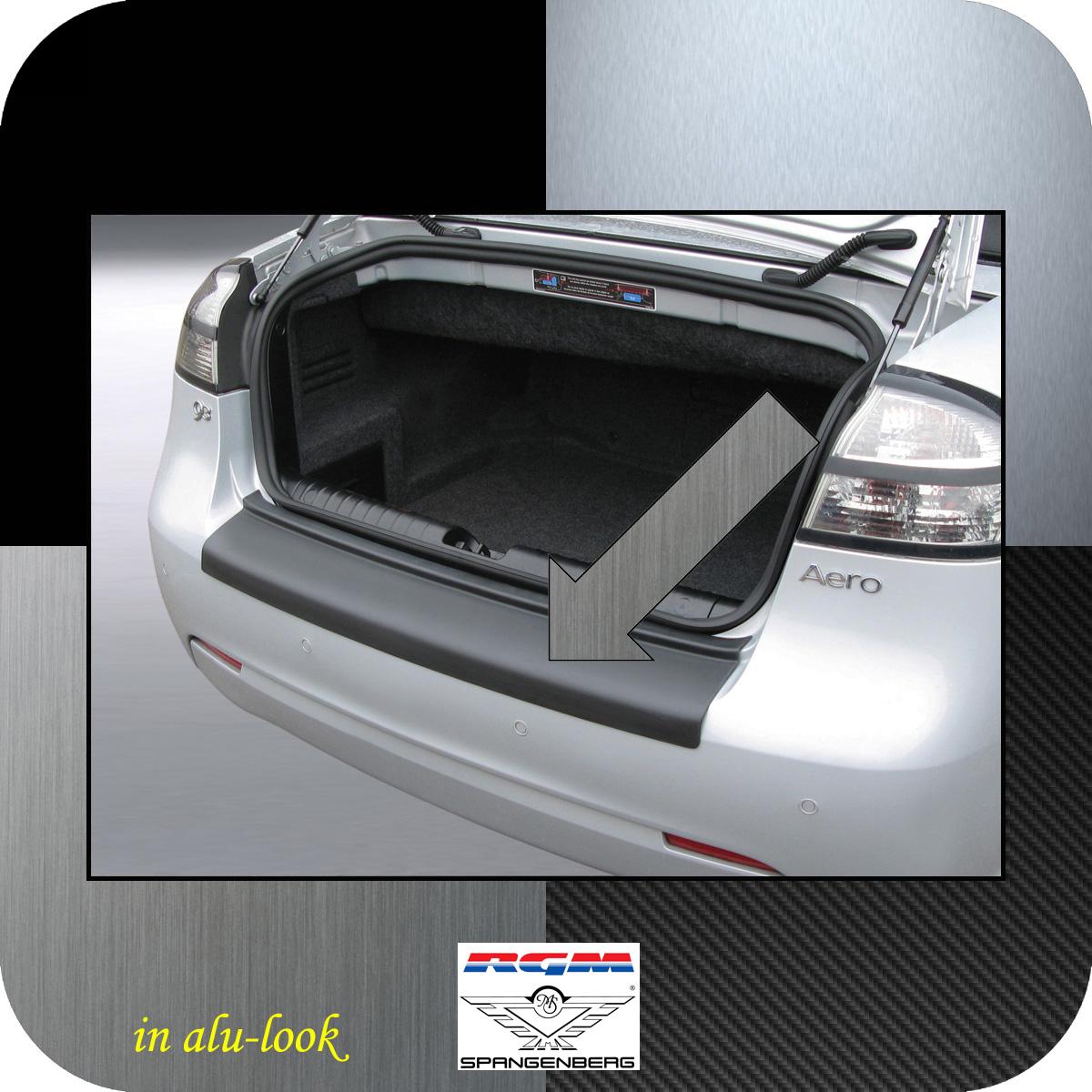 Ladekantenschutz Alu-Look Saab 9-3 II Cabrio 2-türig ab Mopf 2007-15 3504406