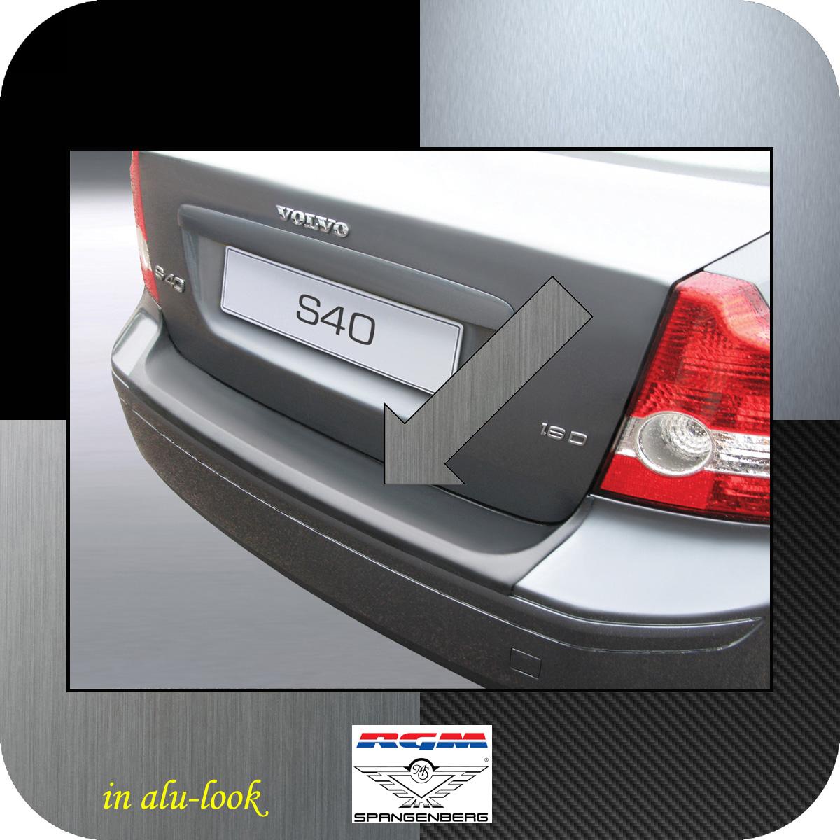 Ladekantenschutz Alu-Look Volvo S40 II Limousine vor Mopf 2004-2007 3504417