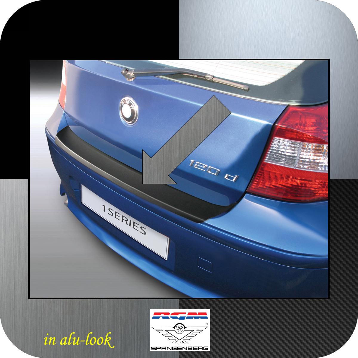 Ladekantenschutz Alu-Look BMW 1er E81 E87 Schrägheck vor Mopf 2003-07 3504441
