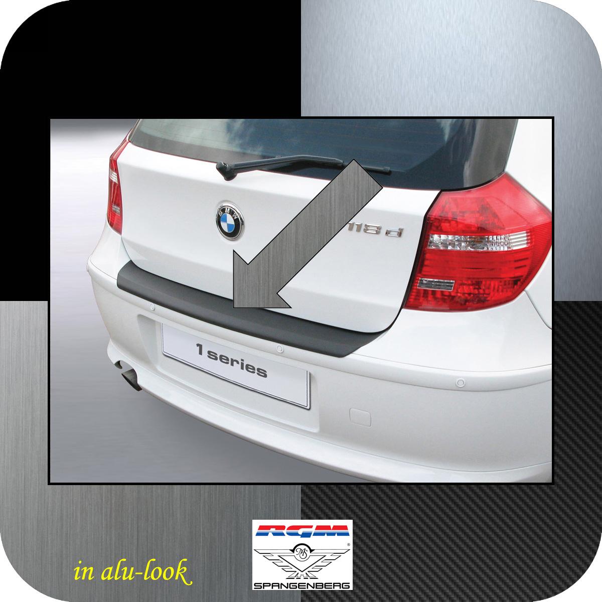 Ladekantenschutz Alu-Look BMW 1er E81 E87 Schrägheck ab Mopf 2007-12 3504453