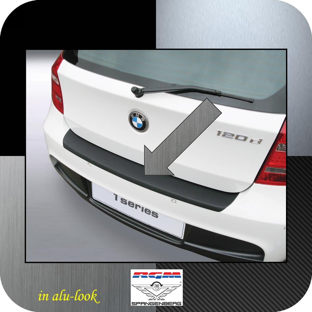 Ladekantenschutz Alu-Look BMW 1er E81 E87 M-Style ab facelift 2007-12 3504457