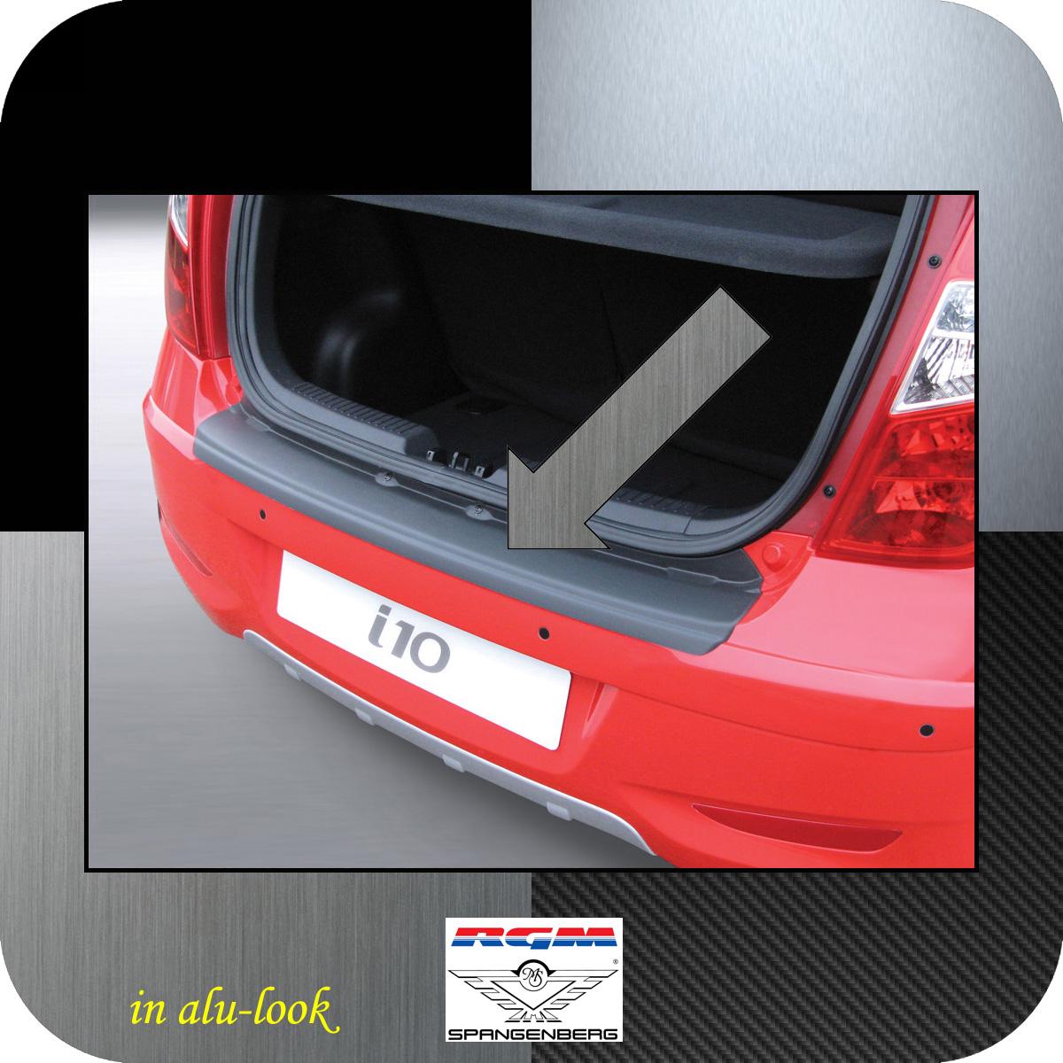 Ladekantenschutz Alu-Look Hyundai i10 I Schrägheck ab Mopf 2011-2013 3504497