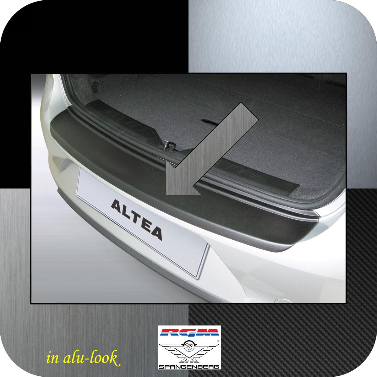 Ladekantenschutz Alu-Look Seat Altea Van Kombi ab facelift 2009-2015 3504518