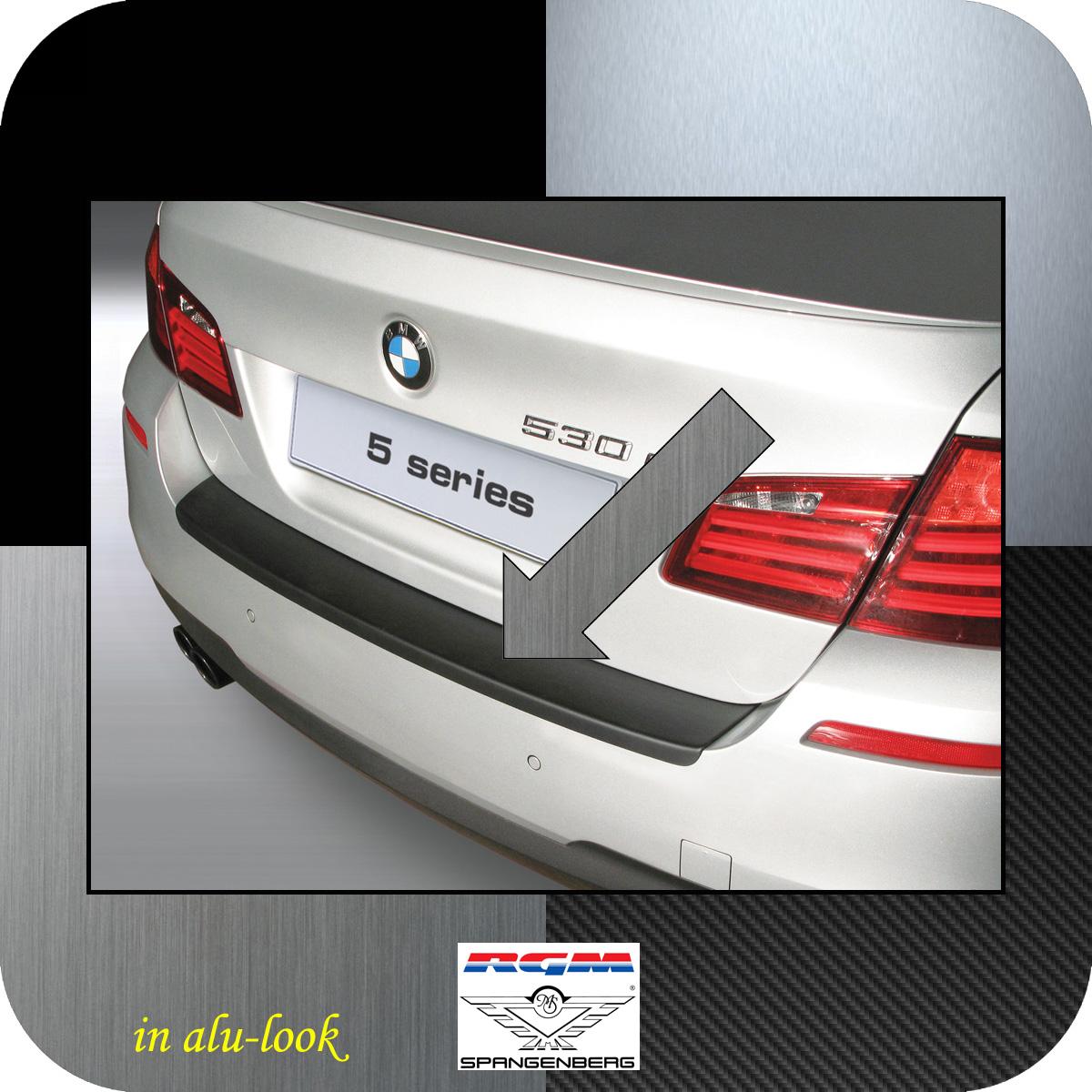 Ladekantenschutz mit Abkantung für BMW 5er F10 Limousine 4-Türer 2010
