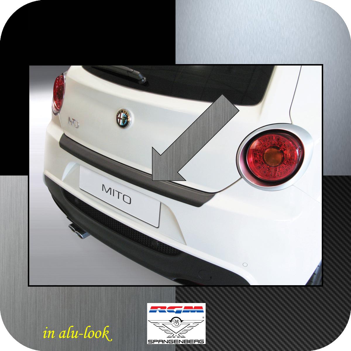 Ladekantenschutz Alu-Look Alfa Romeo Mito Schrägheck ab Baujahr 2008- 3504546