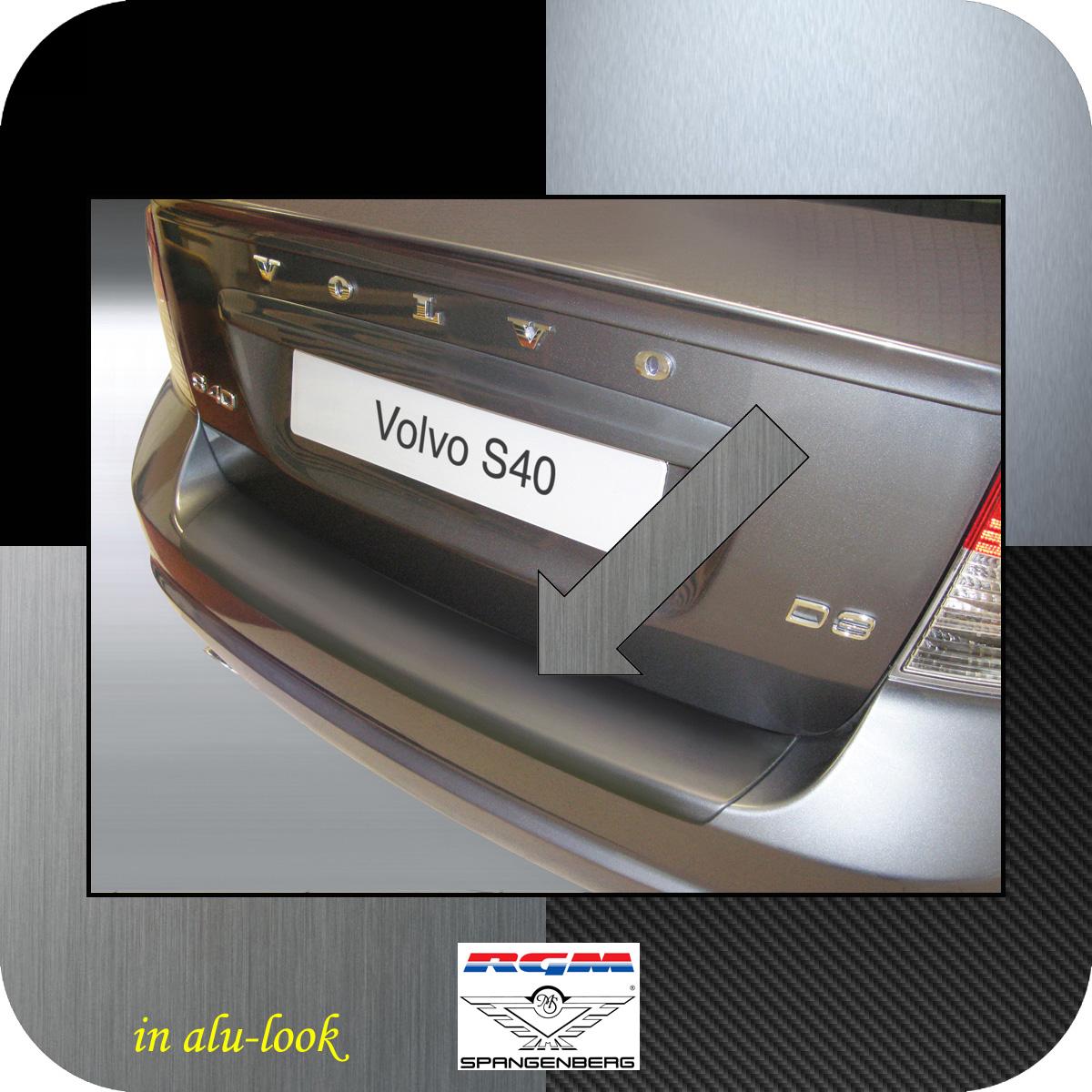 Ladekantenschutz Alu-Look Volvo S40 II Limousine ab facelift 2007-12 3504549