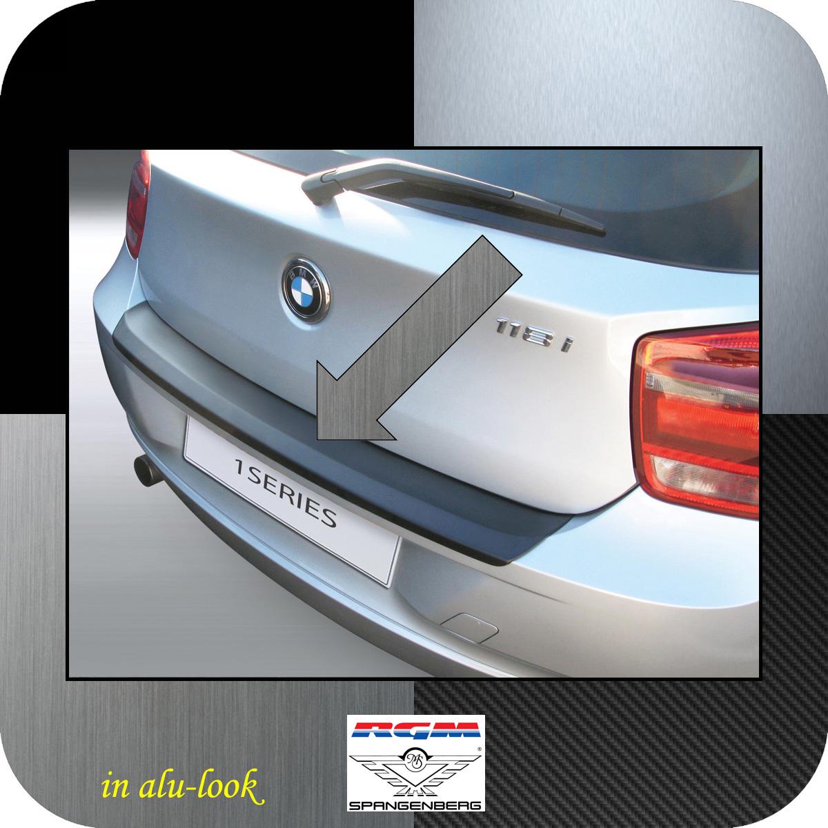 Ladekantenschutz Alu-Look BMW 1er F21 und F20 vor facelift Bj 2011-15 3504554
