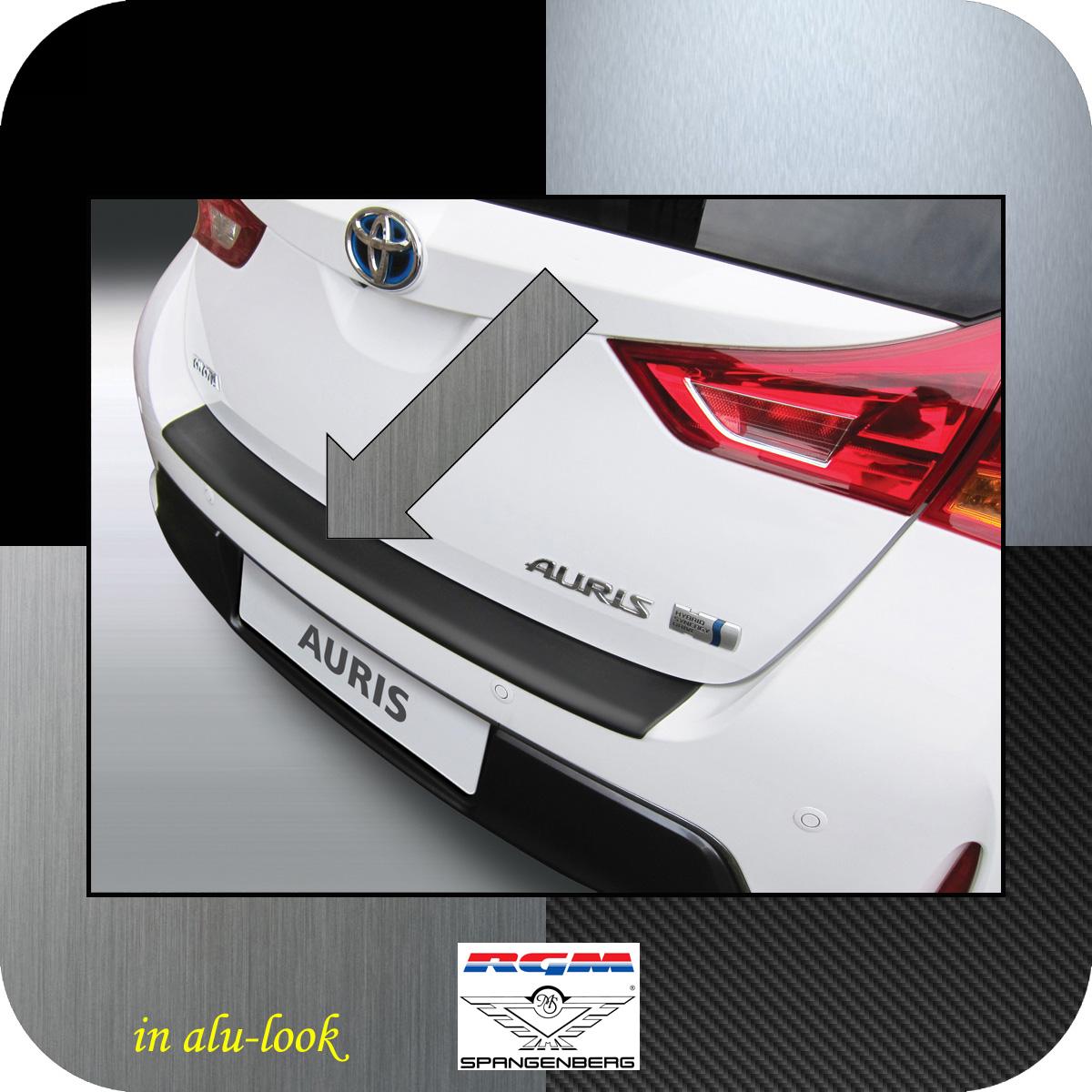 Ladekantenschutz Alu-Look Toyota Auris II Schrägheck vor Mopf 2012-15 3504620