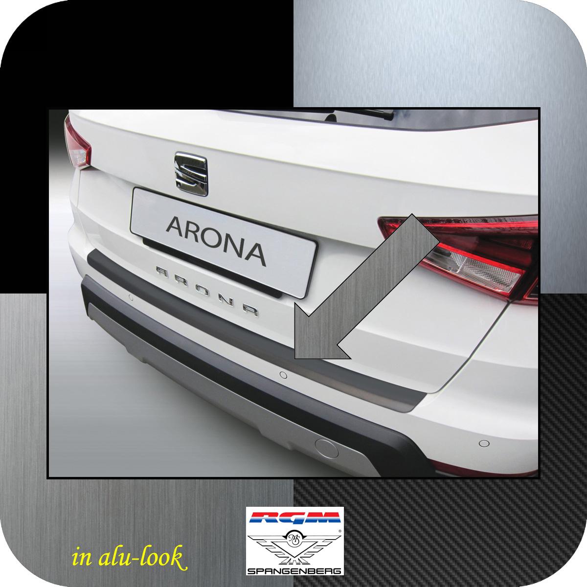 Ladekantenschutz Alu-Look Seat Arona SUV Crossover ab Baujahr 11.2017- 3504624