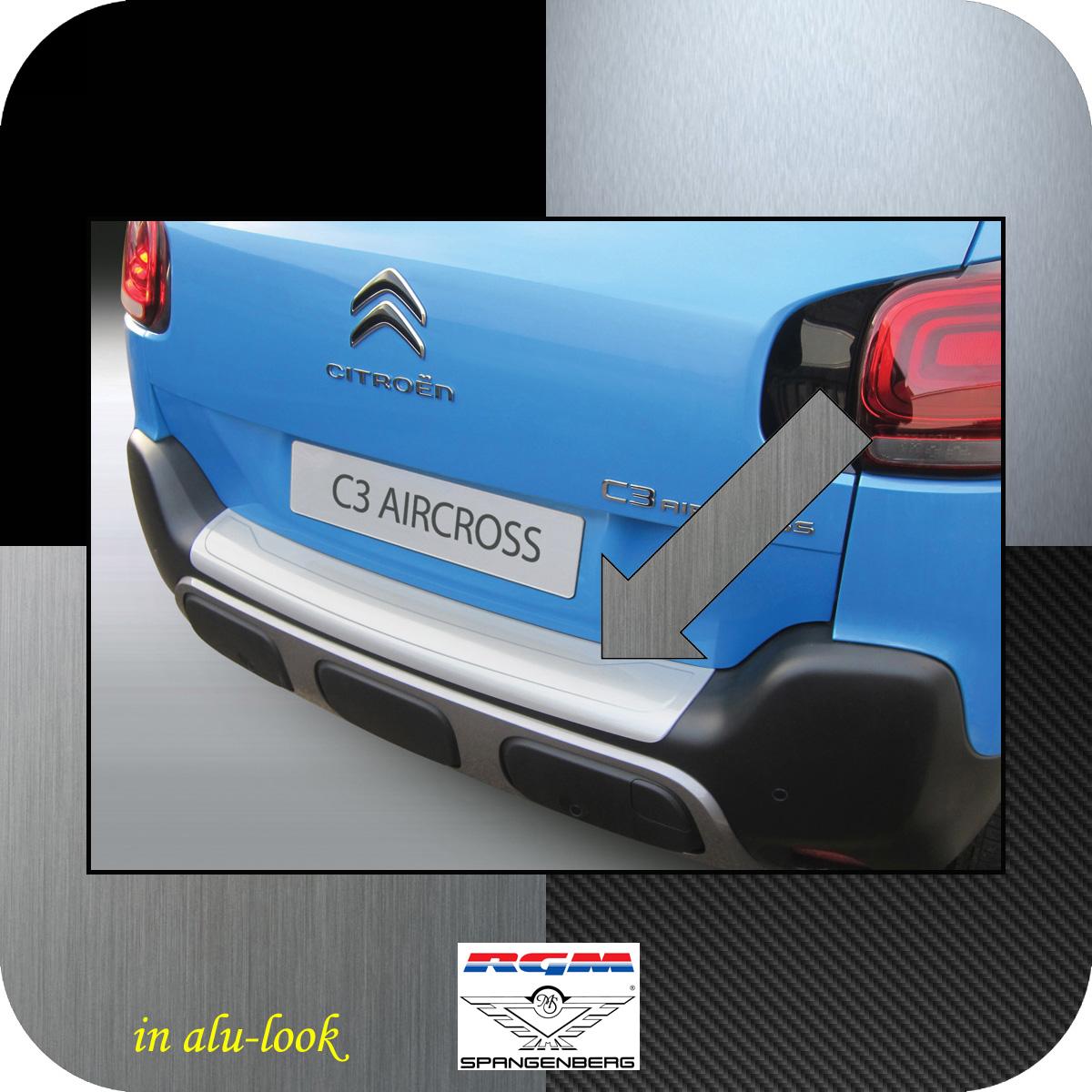 Ladekantenschutz Alu-Look Citroen C3 Aircross ab Baujahr 11.2017- 3504629