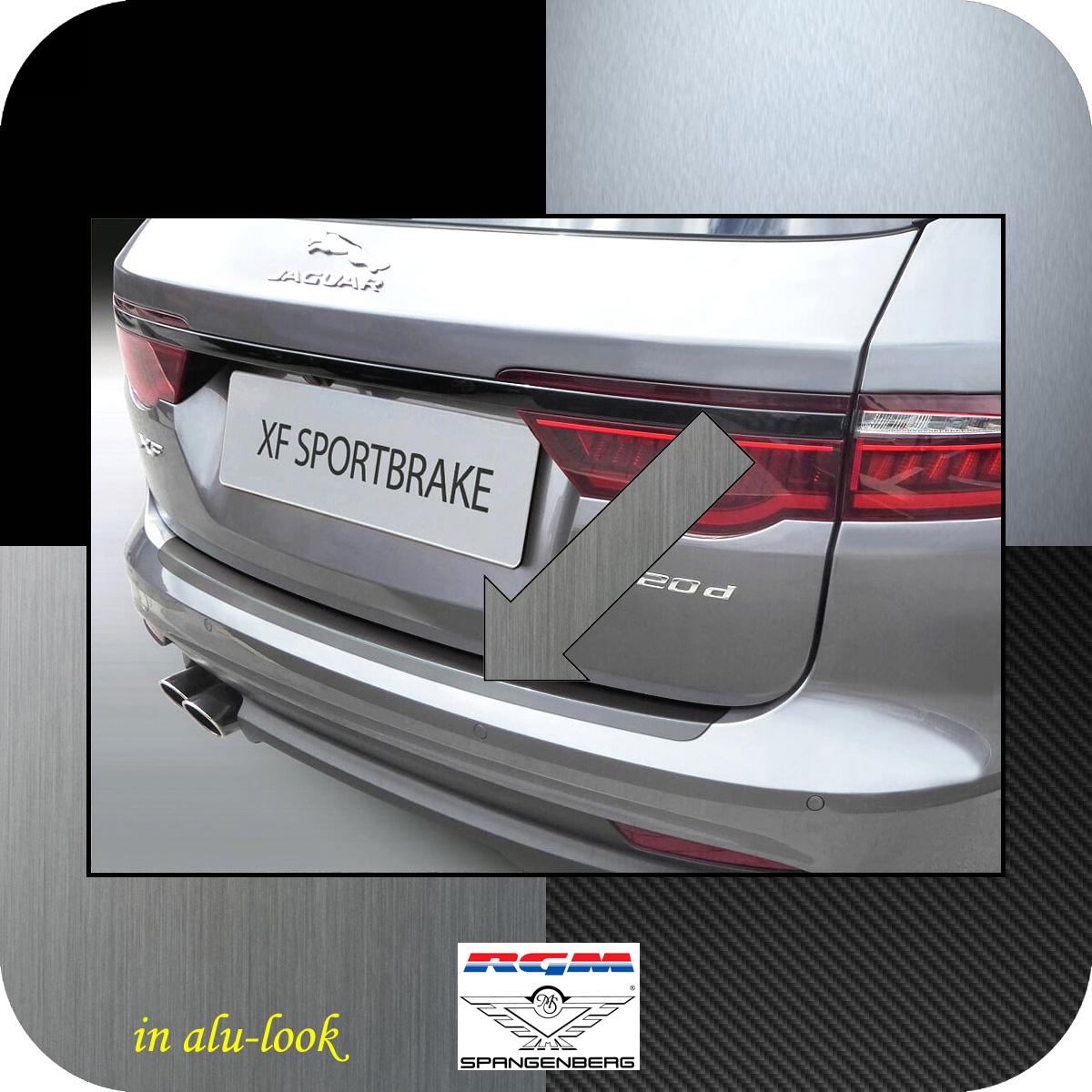 Ladekantenschutz Alu-look Jaguar XF Sportbrake Kombi MK2 ab 07.2017- 3504635
