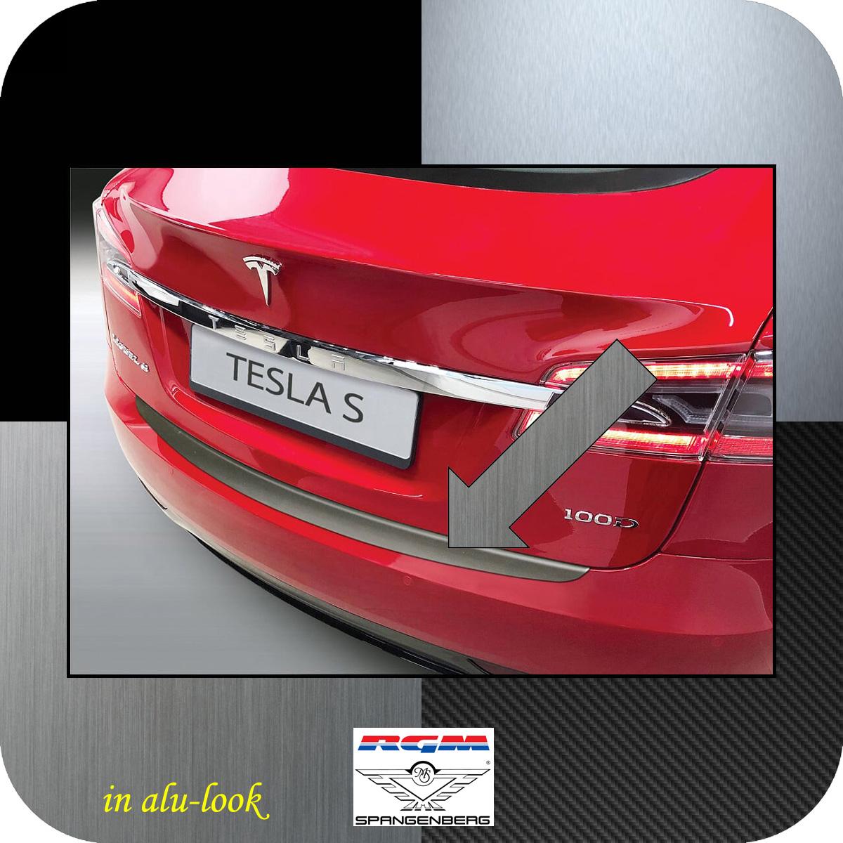 Ladekantenschutz Alu-Look Tesla Model S ab Baujahr 06.2012- 3504658