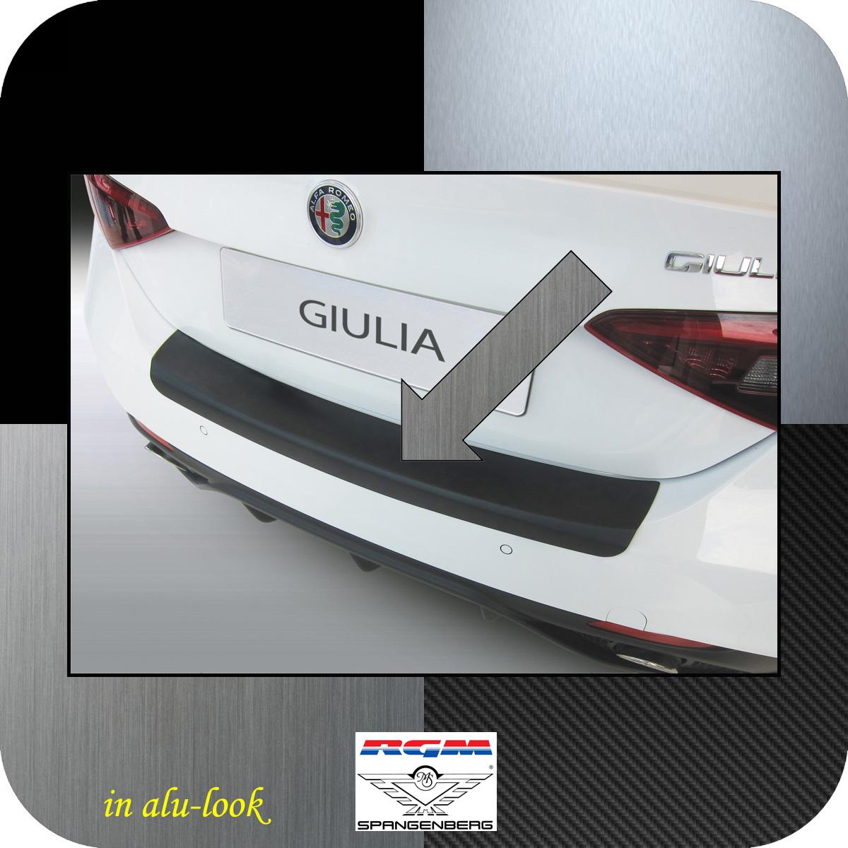 Ladekantenschutz Alu-Look Alfa Giulia Limousine Typ 952 ab Bj 05.2016- 3504676